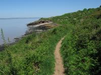 An image of North Somerset coastal path Clevedon - Portishead