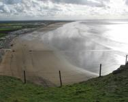 An image of Brean Down